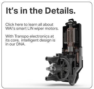 Its in the details - Smart LIN2 wiper motors