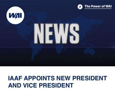 IAAF appoints new president and vice president