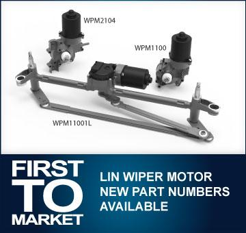 NEW LIN Wiper motor parts numbers