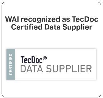 Certified TecDoc Supplier