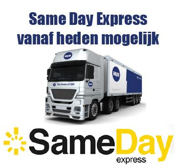 WAI offers Same day shipping options for Dutch customers