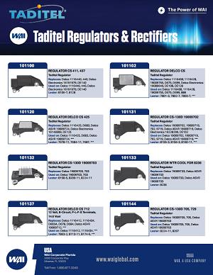 Taditel Regulators & Rectifiers